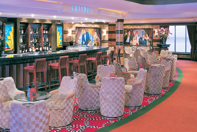 Champagne Bar en el Norwegian Star