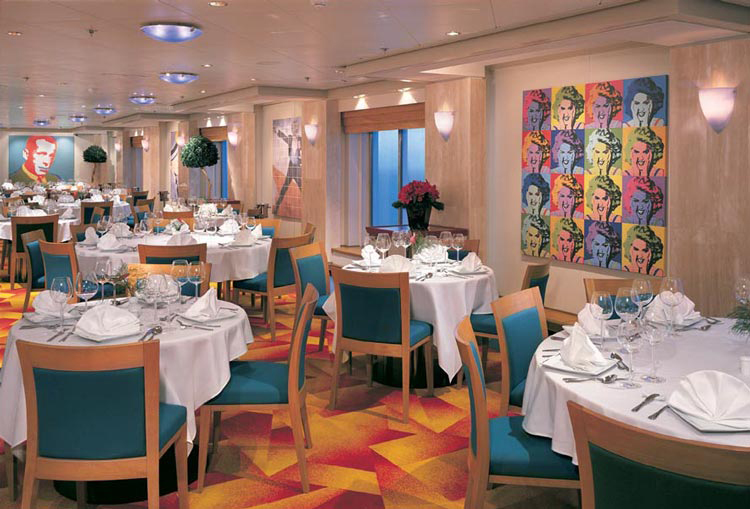 Restaurante The Soho Room en el Norwegian Star