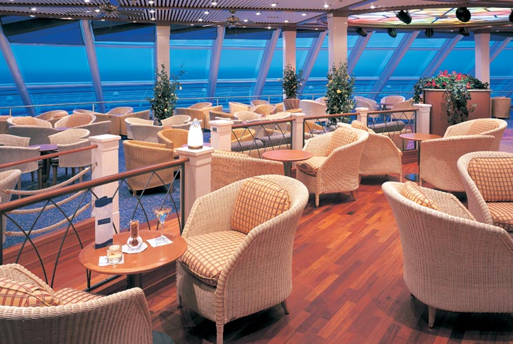 Observation Lounge en el Norwegian Sun