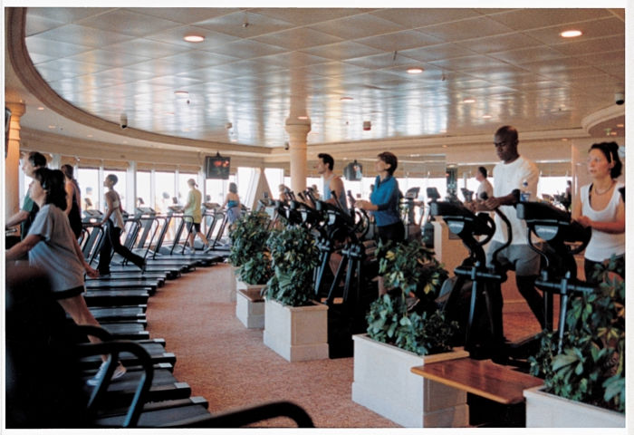 Fitness Center a bordo del Adventure of the Seas