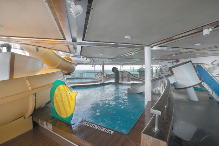 Piscina infantil a bordo del Adventure of the Seas