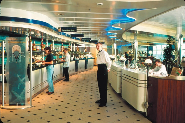 El Windjammer Buffet del Adventure of the Seas