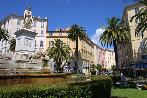 Grand Place Foch de Ajaccio