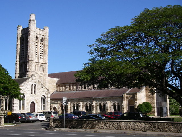 Honolulu catedral st. andrew