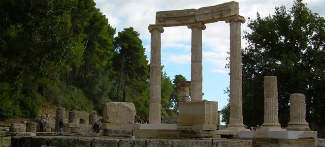 arquituctura  Katakolon - Olimpia