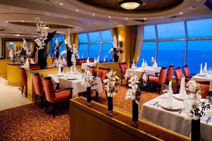 Restaurante Portofino del Independence of the Seas