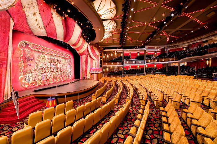 El espectacular teatro del Independence of the Seas