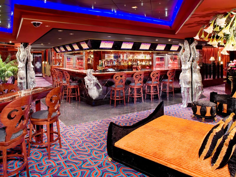 Bliss ultra lounge en el Norwegian Gem