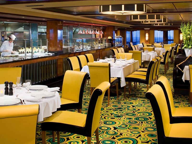 Cagneys Steakhouse en el Norwegian Gem