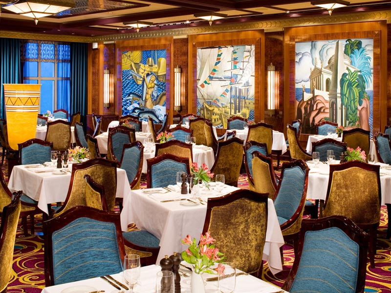 Restaurante Grand Pacific en el Norwegian Gem