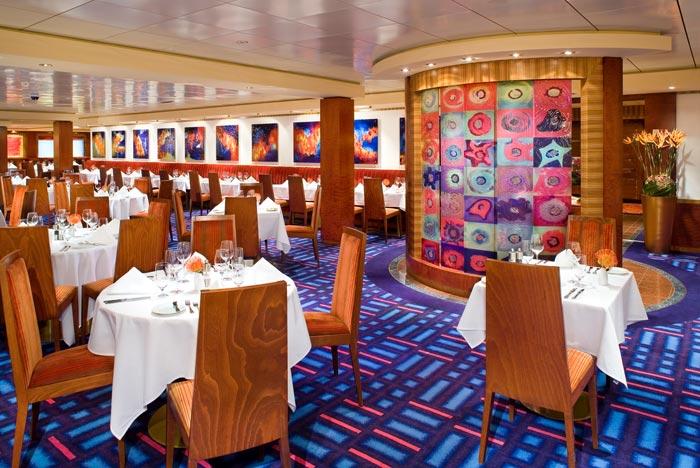 Restaurante Alizar en el Norwegian Jade