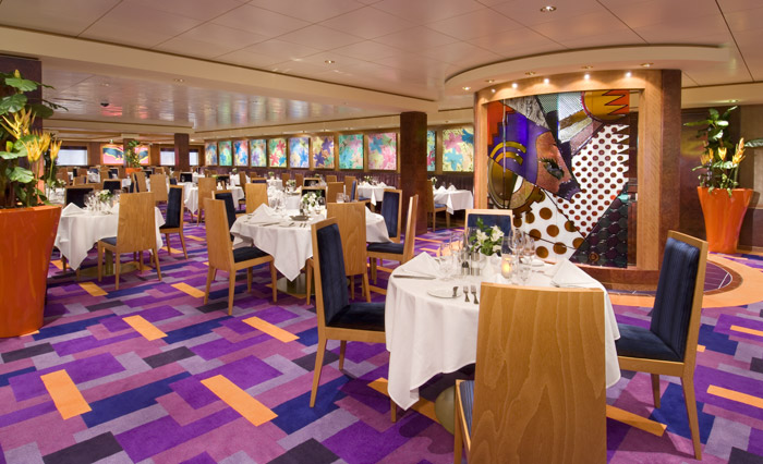 Restaurante en el Norwegian Jewel