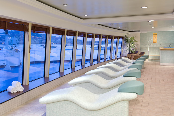 Spa en el Norwegian Jewel