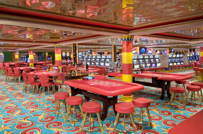 Casino en el Norwegian Jewel