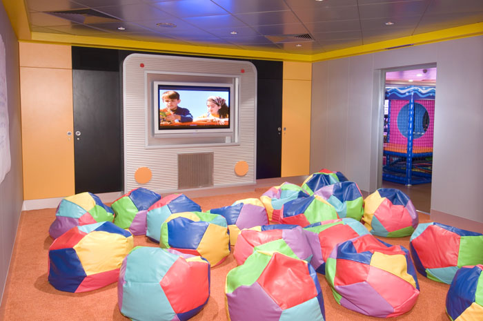 Splashdown Kids Club en el Norwegian Jewel