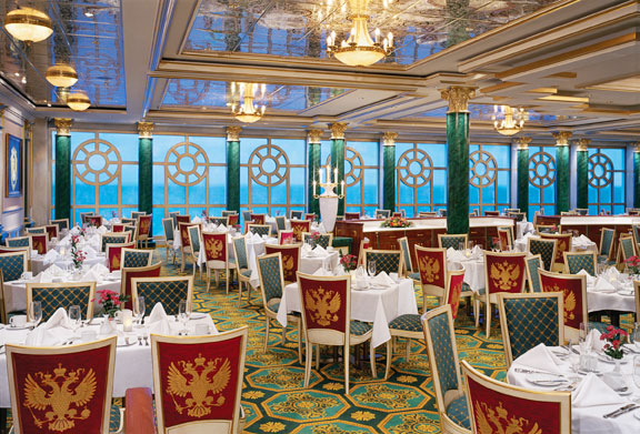 Restaurante Tsar en el Norwegian Jewel
