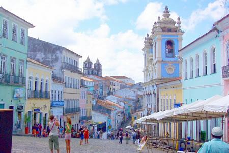 Calles de Salvador de Bahía