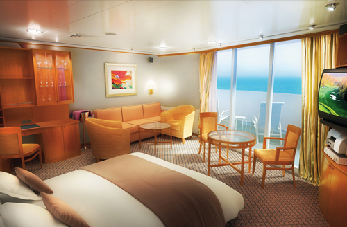 Penthouse en el Norwegian Spirit