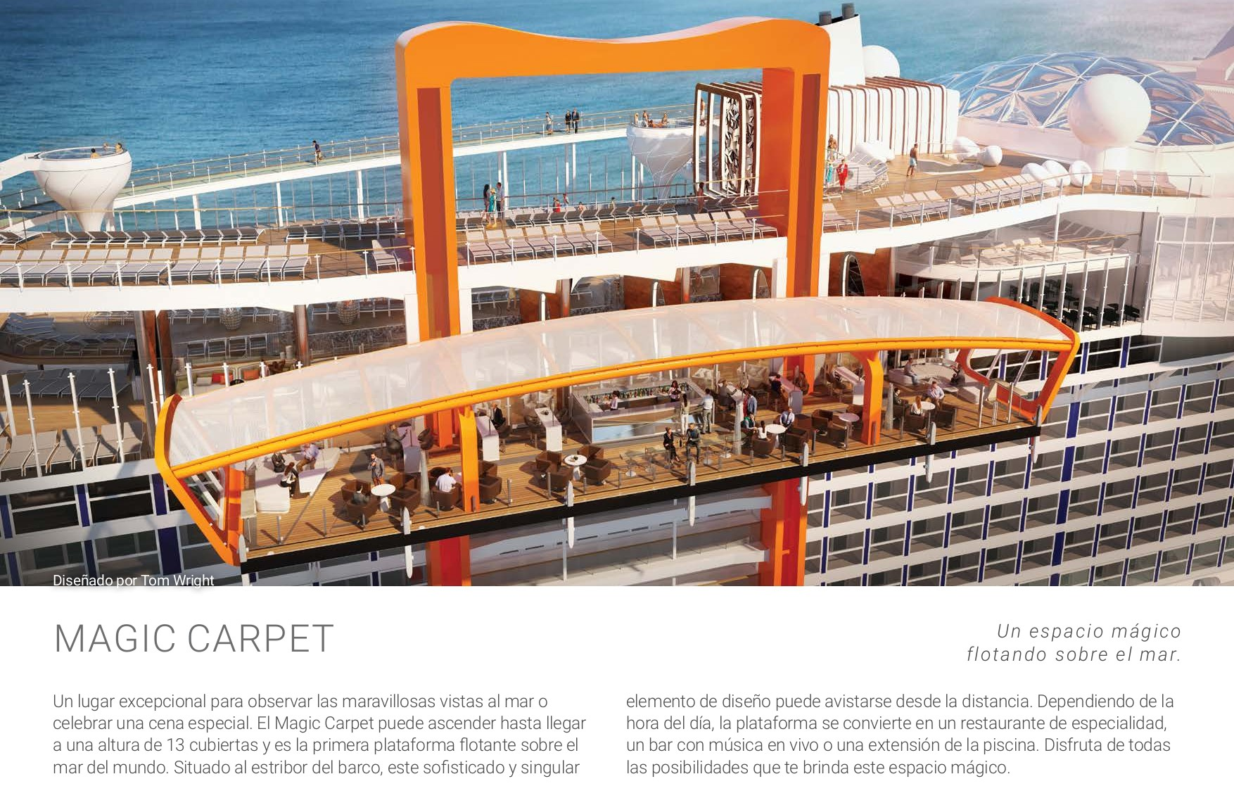 Magic Carpet Celebrity Edge